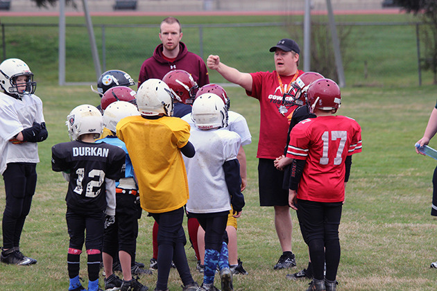 Cowichan football is in for a big season following its spring camp that got players into high gear. — image credit: Don Bodger/file