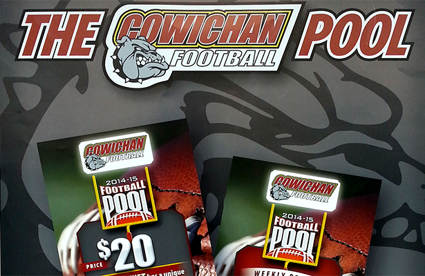 cowichan football pool poster