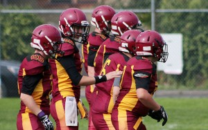 The midget Bulldogs ran their winning streak to three games by beating White Rock last Sunday. (Kevin Rothbauer/Citizen)